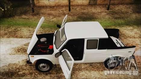 ВАЗ 2329 Нива 4x4 для GTA San Andreas вид сзади
