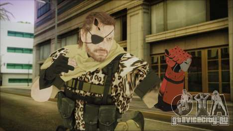 MGSV Phantom Pain Snake Scarf Animals для GTA San Andreas