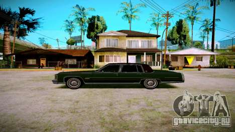 Cadillac Fleetwood Brouhman 1985 для GTA San Andreas вид слева