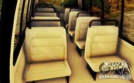 Jurassic Park Tour Bus для GTA San Andreas вид сзади