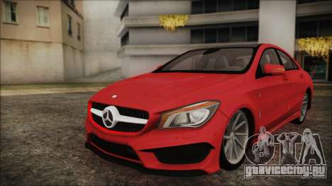 Mercedes-Benz CLA 250 для GTA San Andreas вид сзади слева