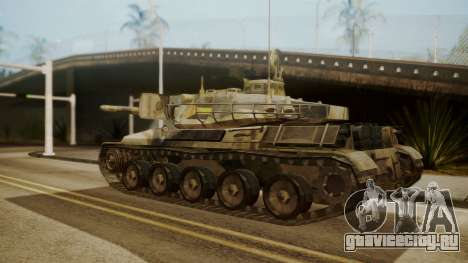 AMX 30 from Mercenaries 2 World in Flames для GTA San Andreas вид слева
