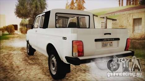 ВАЗ 2329 Нива 4x4 для GTA San Andreas вид слева