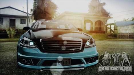 Carlsson Aigner CK65 RS v1 Headlights для GTA San Andreas