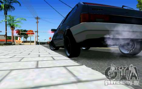 Ваз 2108 V1 для GTA San Andreas вид справа
