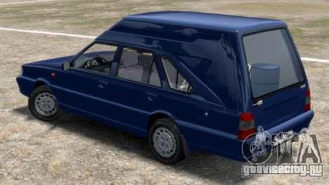 Daewoo-FSO Polonez Cargo Van Plus 1999 для GTA 4 вид сзади слева