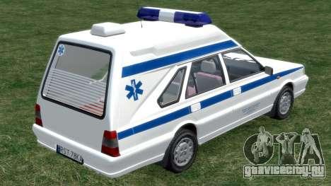 Daewoo FSO Polonez 1999 - Скорая помощь для GTA 4 вид справа