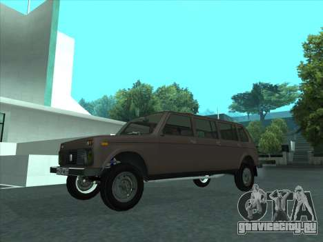 ВАЗ 2131 Семидверная для GTA San Andreas вид изнутри