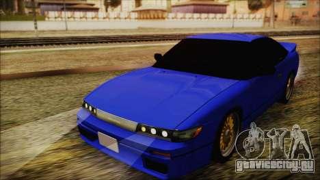 Nissan Silvia Sil80 для GTA San Andreas вид сзади слева