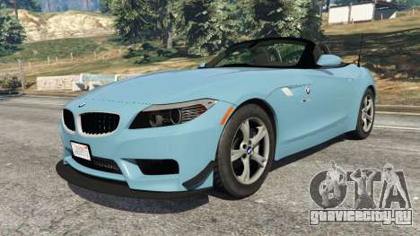 BMW Z4 sDrive28i 2012 для GTA 5 вид справа