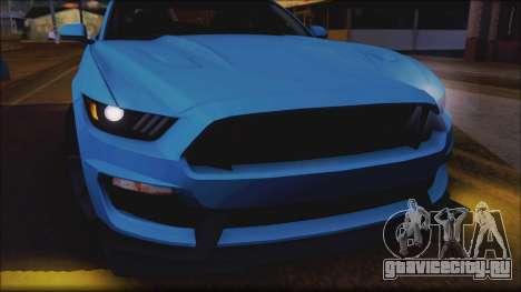 Ford Mustang Shelby GT350R 2016 для GTA San Andreas колёса