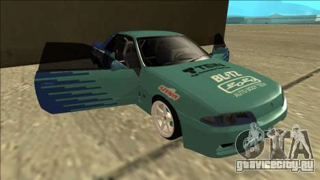 Nissan Skyline R32 Drift Falken для GTA San Andreas вид снизу