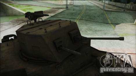 T7 Combat Car для GTA San Andreas вид справа