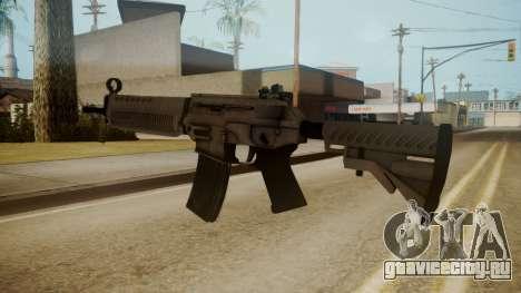 SIG-556 Patrol Rifle White для GTA San Andreas третий скриншот