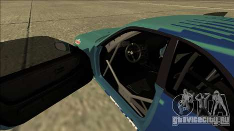 Nissan Skyline R33 Drift Falken для GTA San Andreas вид изнутри