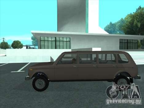 ВАЗ 2131 Семидверная для GTA San Andreas вид слева