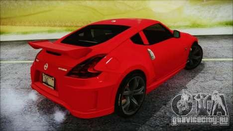Nissan 370Z Nismo 2010 Angel Beats Itasha для GTA San Andreas вид слева