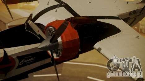 Grumman G-21 Goose N79901 для GTA San Andreas вид справа