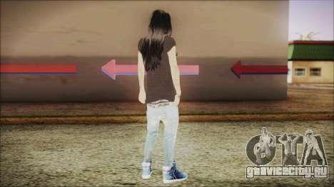 Home Girl SWAG для GTA San Andreas третий скриншот