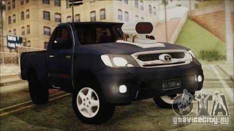 Toyota Hilux 2015 v2 для GTA San Andreas