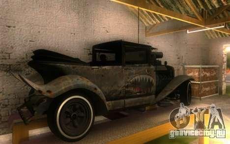 Albany Frenken Stange Rusty Edition для GTA San Andreas вид сзади слева