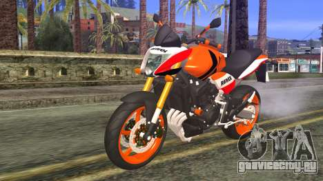 Honda Hornet Repsol 2010 для GTA San Andreas
