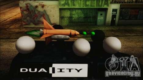 Duality Van - Furgoneta Duality для GTA San Andreas вид сзади слева