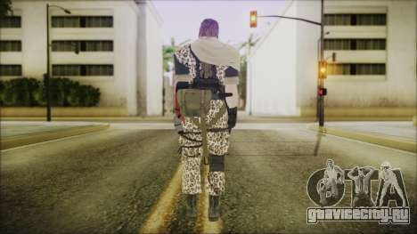 MGSV Phantom Pain Snake Scarf Animals для GTA San Andreas третий скриншот
