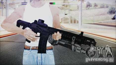 SOWSAR-17 Type G Assault Rifle with Grenade для GTA San Andreas третий скриншот