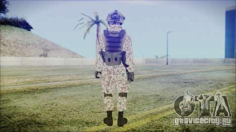 Bundeswehr Desert v2 для GTA San Andreas третий скриншот
