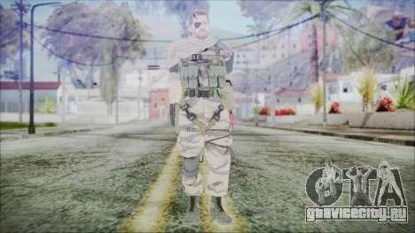 MGSV Phantom Pain Snake Scarf Tiger для GTA San Andreas второй скриншот