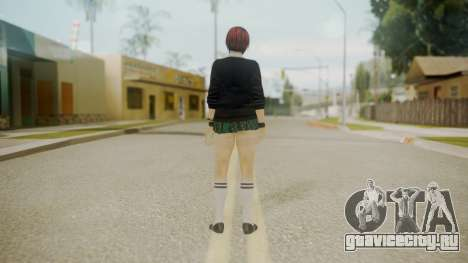 DoA School Grl для GTA San Andreas третий скриншот