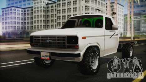Ford F-150 Con Sonido для GTA San Andreas