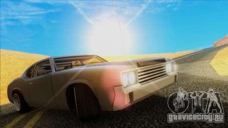 Sabre Race Edition для GTA San Andreas вид сзади слева
