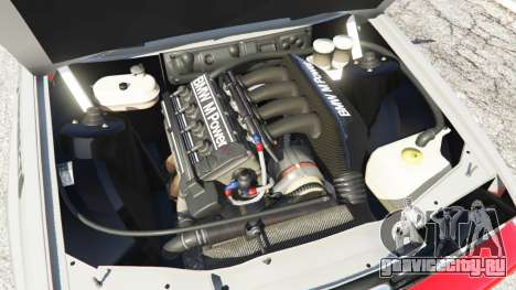 BMW M3 (E30) 1991 [Wild Autonio] v1.2 для GTA 5 вид сзади справа