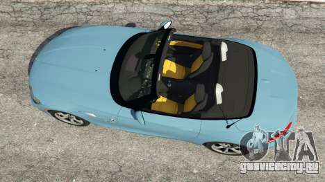 BMW Z4 sDrive28i 2012 для GTA 5 вид сзади