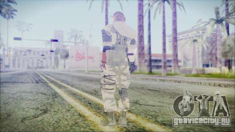 MGSV Phantom Pain Snake Scarf Tiger для GTA San Andreas третий скриншот