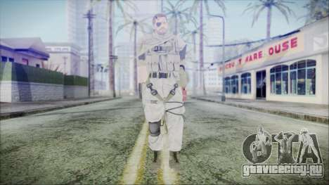 MGSV Phantom Pain Snake Scarf Desert для GTA San Andreas второй скриншот