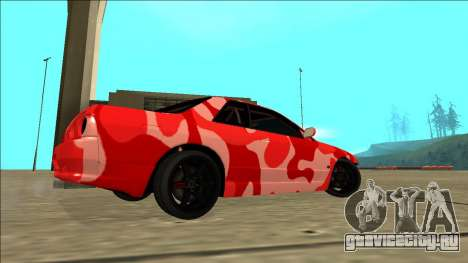 Nissan Skyline R32 Drift для GTA San Andreas вид сзади слева