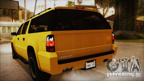 GTA 5 Declasse Granger IVF для GTA San Andreas вид сбоку