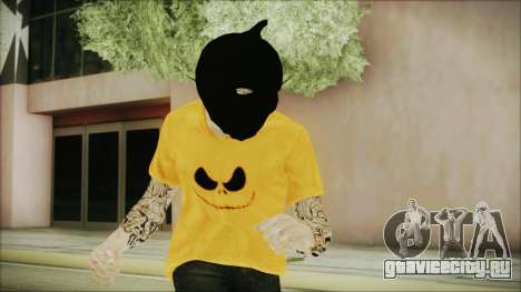 DLC Halloween GTA 5 Skin 3 для GTA San Andreas