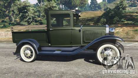 Ford Model A Pick-up 1930 для GTA 5 вид слева