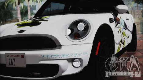 Mini Cooper Clubman 2011 Itasha для GTA San Andreas вид изнутри