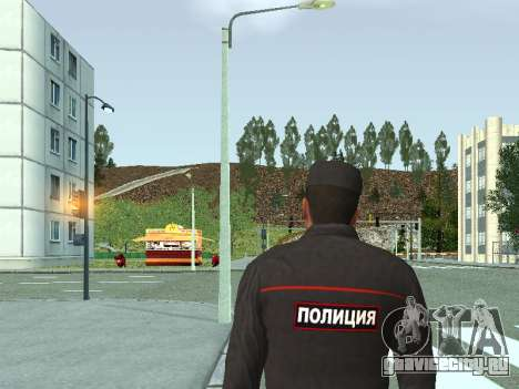 Сержант ППС в форме нового образца для GTA San Andreas второй скриншот