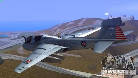 Northrop Grumman EA-6B Prowler VAQ-129 для GTA San Andreas вид слева