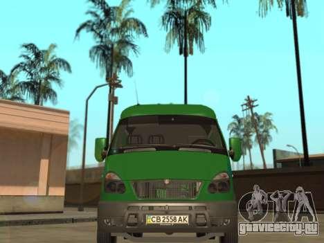 ГАЗель 2705 ПриватБанк v2 для GTA San Andreas вид справа