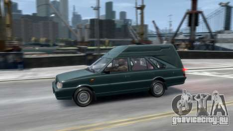 Daewoo-FSO Polonez Cargo Van Plus 1999 для GTA 4 вид снизу