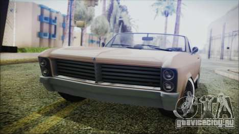 GTA 5 Albany Buccaneer Bobble Version IVF для GTA San Andreas