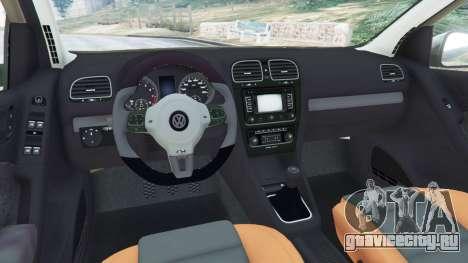 Volkswagen Golf Mk6 для GTA 5