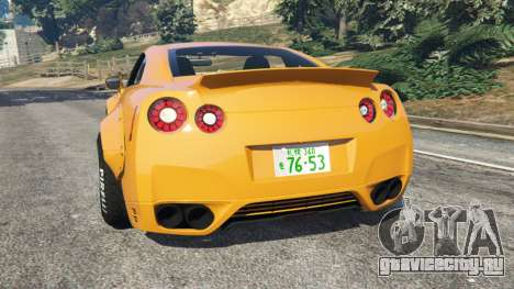 Nissan GT-R (R35) [LibertyWalk] для GTA 5